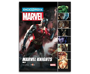 Libro 54: MARVEL KNIGHTS VOLUMEN 4