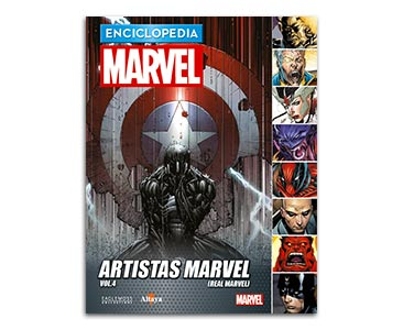 Libro 70: ARTISTAS MARVEL VOL.4