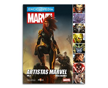 Libro 75: ARTISTAS MARVEL VOL.5