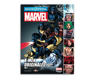 Libro 18: X-MEN ORIGINALES VOLUMEN 1