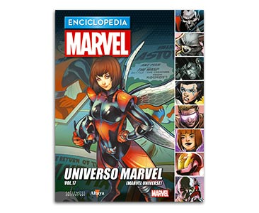 Libro 92: UNIVERSO MARVEL VOL.17