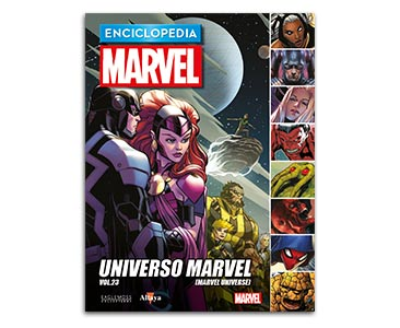 Libro 98: UNIVERSO MARVEL VOL.23