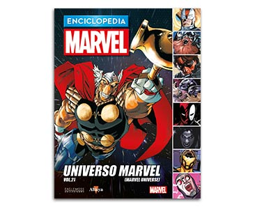 Libro 96: UNIVERSO MARVEL VOL.21