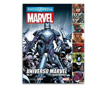 Libro 101: UNIVERSO MARVEL VOL.26