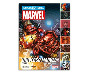 Libro 100: UNIVERSO MARVEL VOL.25