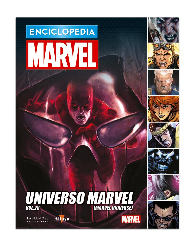 Libro 103: UNIVERSO MARVEL VOL.28