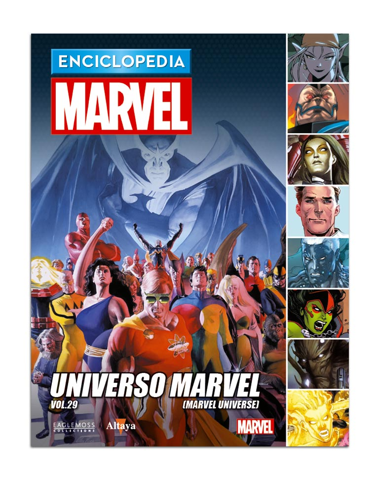Libro 104: UNIVERSO MARVEL VOL.29