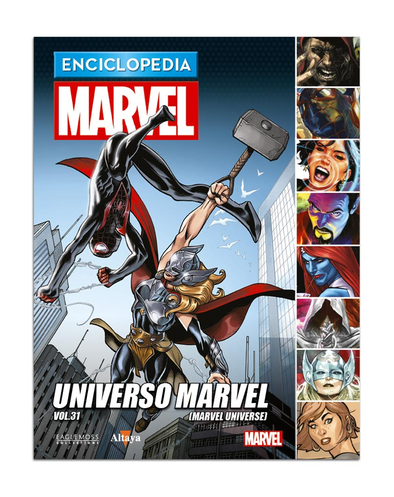 Libro 106: UNIVERSO MARVEL VOL.31