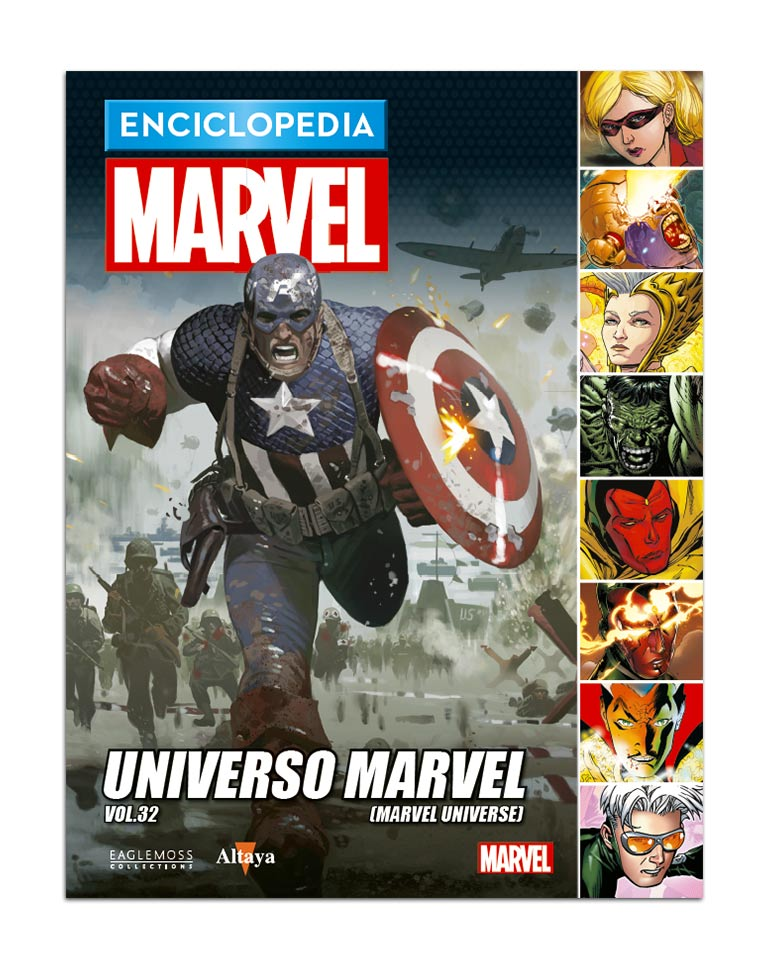 Libro 107: UNIVERSO MARVEL VOL.32