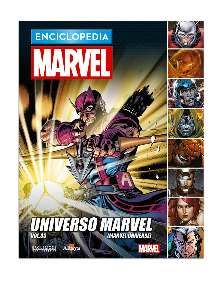 Libro 108: UNIVERSO MARVEL VOL.33