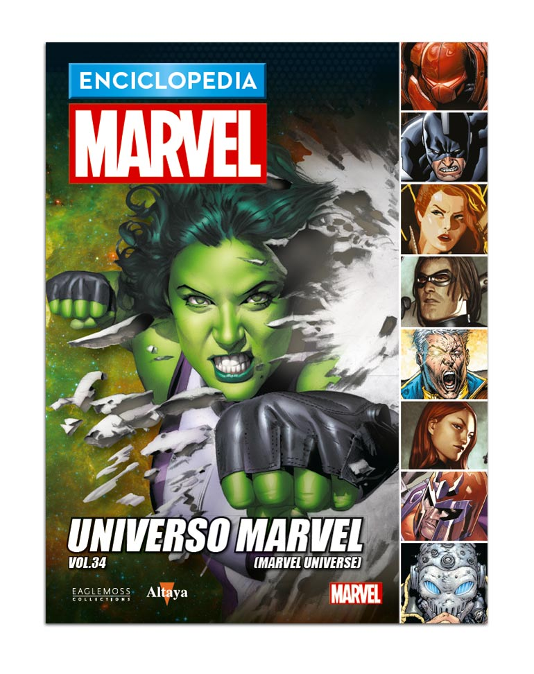 Libro 109: UNIVERSO MARVEL VOL.34