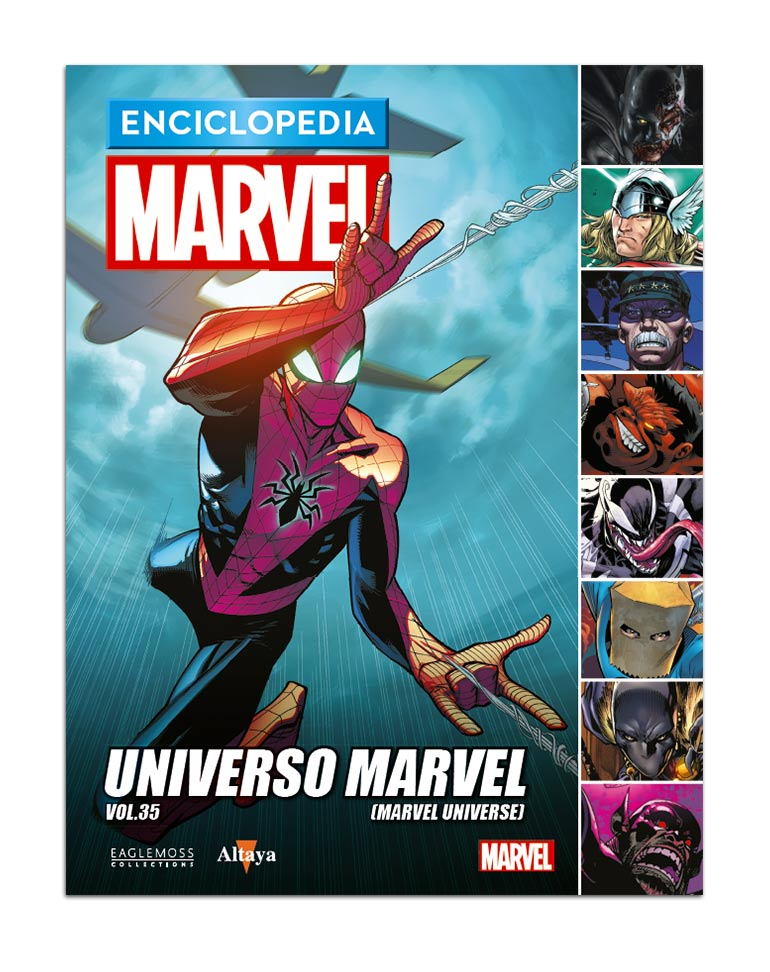 Libro 110: UNIVERSO MARVEL VOL.35