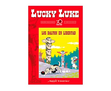 Libro 54: LOS DALTON EN LIBERTAD