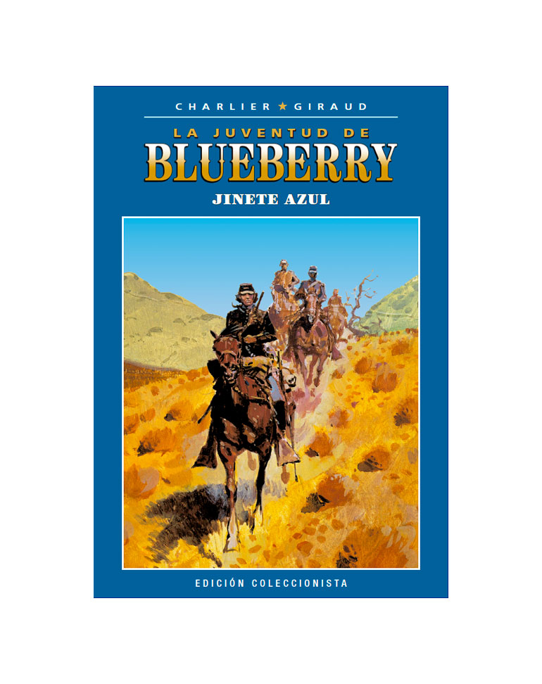 Libro 25: Jinete azul