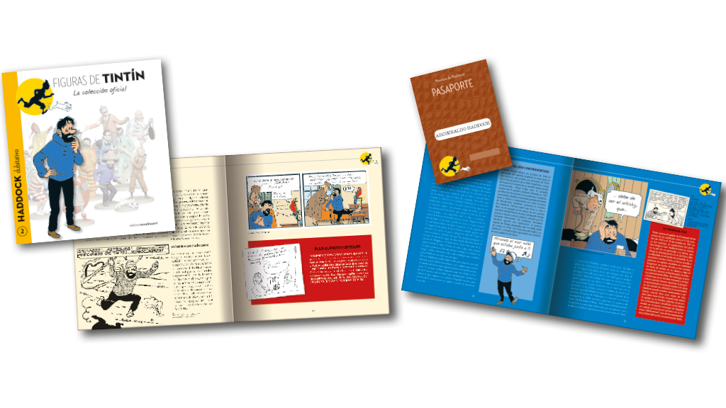 Figuras y libros de coleccionista