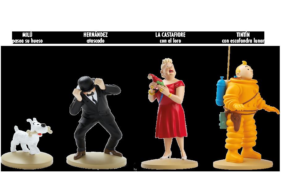Figuras De Tintín La Colección Oficial
