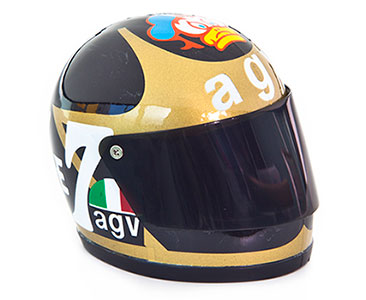 Casque 37: BARRY SHEENE - 1978 + Fascicule 37