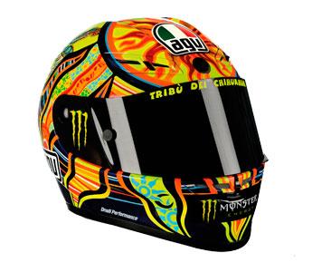 Casque 1 : Valentino Rossi - 2009 + Fascicule