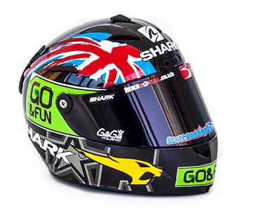 Casque 44 : SCOTT REDDING - 2014 + Fascicule
