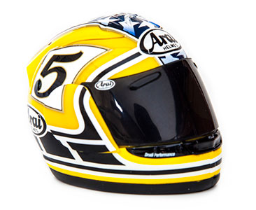 Casque 77 : COLIN EDWARDS - 2005 + Fascicule