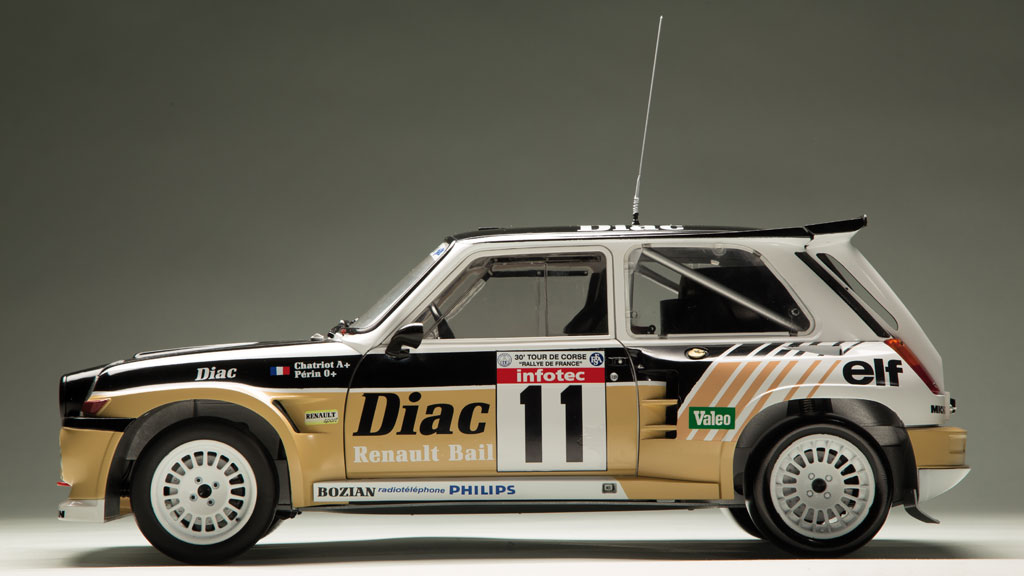 Construisez votre Renault 5 Maxi Turbo