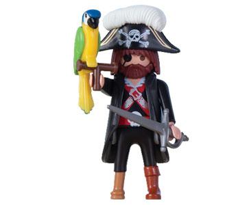 Le livret 6 : Les rois des pirates + 2 Fiches de jeu + Figurine