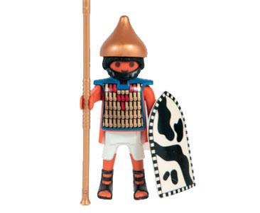 Le livret 21 : L'empire du Nil + 2 Fiches de jeu + Figurine