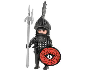 Le livret 1 : Les chevaliers du Moyen-Âge + 2 Fiches de jeu + Figurine