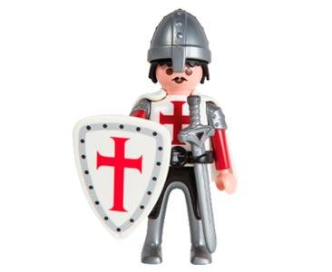 Le livret 39 : Les croisades + 2 Fiches de jeu + Figurine