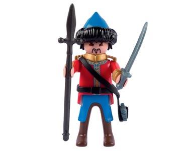 Le livret 43 : Les Mongols de la horde d'or + 2 Fiches de jeu + Figurine