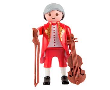 Le livret 52 : Wolfgang Amadeus Mozart + 2 Fiches de jeu + Figurine