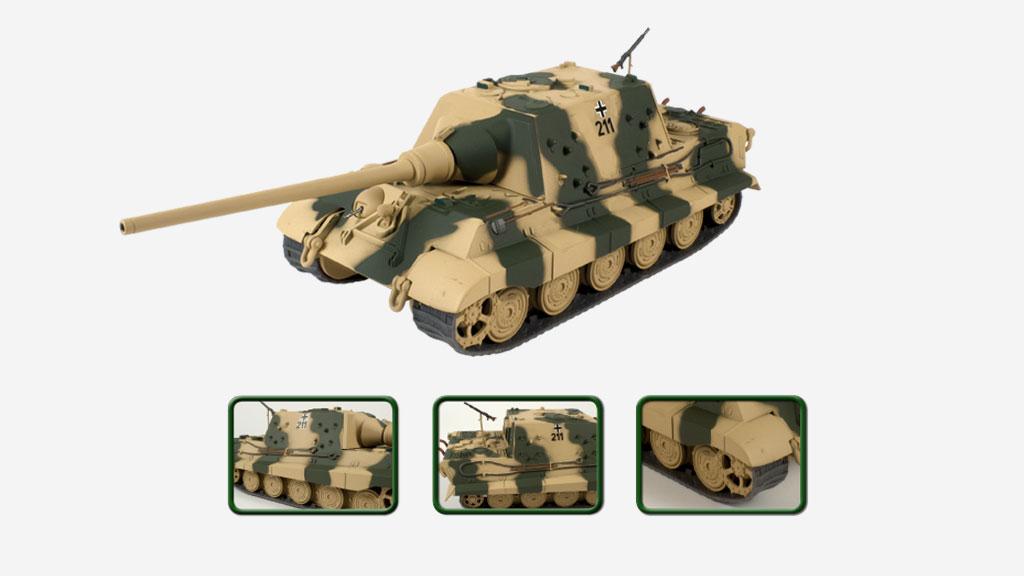 Les tanks qui dominèrent le champ de bataille dans une collection inédite!