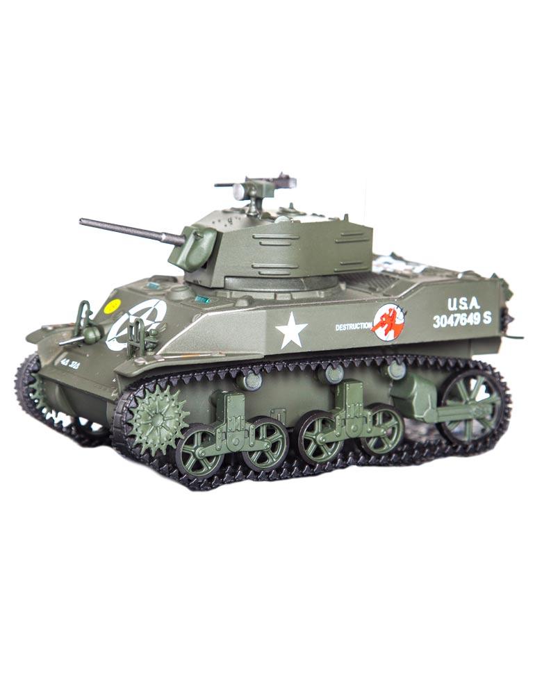 M5A1 STUART USA + Fascicule 72