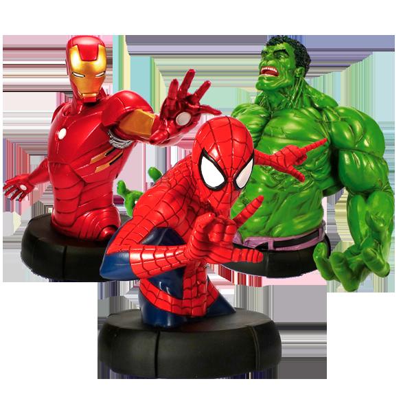 Bustes Marvel : Collectionnez tous les Héros de Marvel