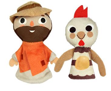 La Poule aux oeufs d'or + Les marionnettes du Paysan et du Poule