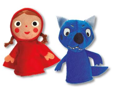 Le Petit Chaperon rouge + Les marionnettes du Petit Chaperon rouge et du loup