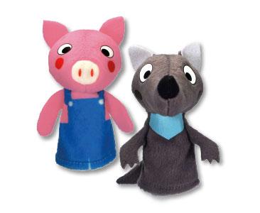 Les Trois Petits Cochons + Les marionnettes du cochon et du loup