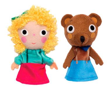 Boucles d'Or et les Trois Ours + Les marionnettes de Boucles d'Or et les Trois Ours