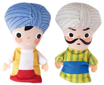 Ali Baba et les 40 Voleurs + Les marionnettes de Ali Baba et Chef des voleurs
