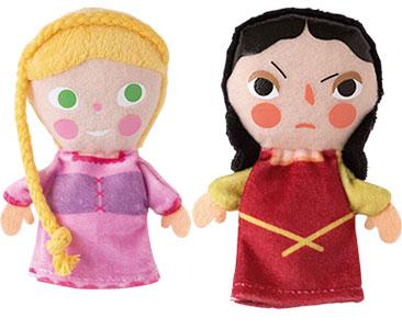 Raiponce + Les marionnettes de Raiponce et Belle-mère