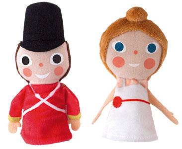 Le Petit Soldat de Plomb + Les marionnettes de Petit soldat et Ballerine