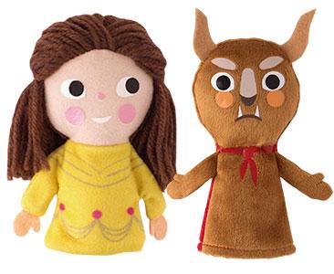 La Belle et la Bete + Les marionnettes de La Belle et La Bête