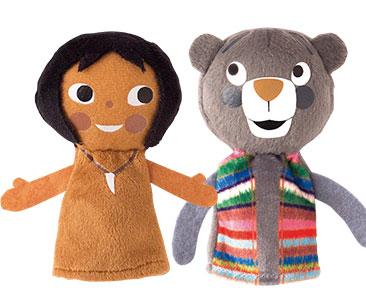 Le Livre de la Jungle + Les marionnettes de Mowgli et de Baloo