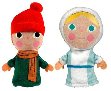 La Reine des Neiges + Les marionnettes de la Reine et l'Enfant