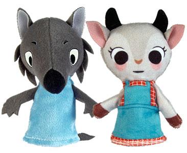 Le Loup et les Sept Chevreaux + Les marionnettes du Loup et du Chevreau