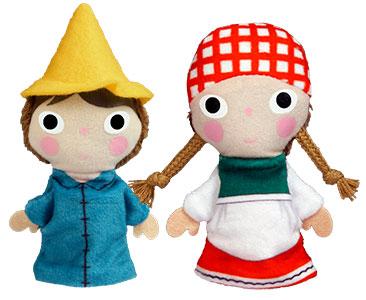 Perrette et le Pot au Lait + Les marionnettes du Perrette et du Fils du meunier