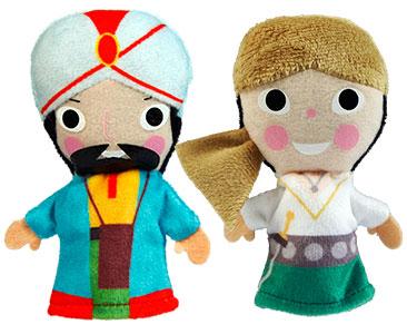 Sinbad le Marin + Les marionnettes du Sinbad et du Propriétaire de la maison