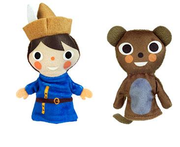 Le Joueur de Flute de Hamelin + Les marionnettes du Joueur de flûte et du Rat