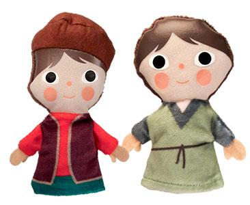 Le Prince et le Pauvre + Les marionnettes du Tom et du Édouard