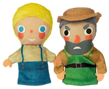 Le Géant égoïste + Les marionnettes du Géant et de Petit enfant